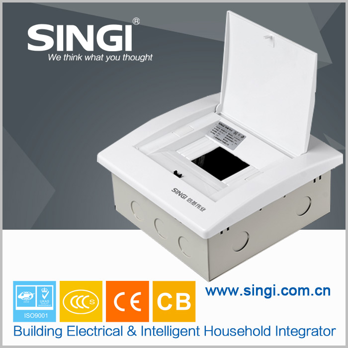 Outdoor Electric DB Box Top ABS Back Metal TH9D Series Distribution Box