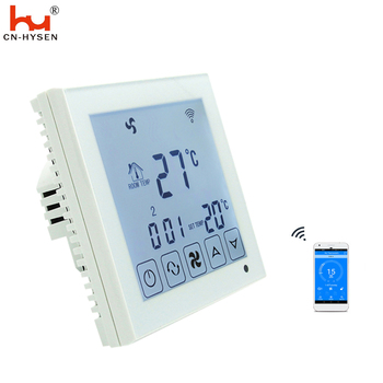 110v cooling thermostat with WiFi APP ,digital touch screen programable temperature controller