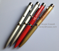 Advertising Aluminum Led Logo Projector Pen Promotional Plastic Ball Pen