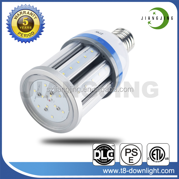 Road Lighting E26 Socket 27W 2900LM 3000K Warm White Waterproof LED Corn Light Bulb