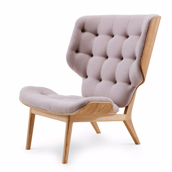 Replica Mammoth <strong>chair</strong> bentwood high back wing <strong>chair</strong> leisure lounge <strong>chair</strong> by Humlevik Krojgaard