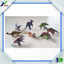 kids dinosaur toy food candy chocolate promotion game 3d puzzle toy