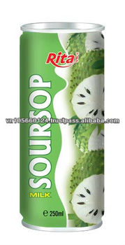 250ml Canned Natural Soursop Drink
