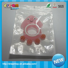 China Manufacturer BPA Free Food Grade Silicone Baby Teether / Owl Teething Rings