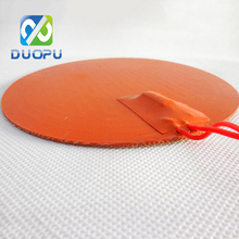 12V 110V DC Battery And Waterproof Flexible Electric Silicone Rubber Heater Solar Powered Portable