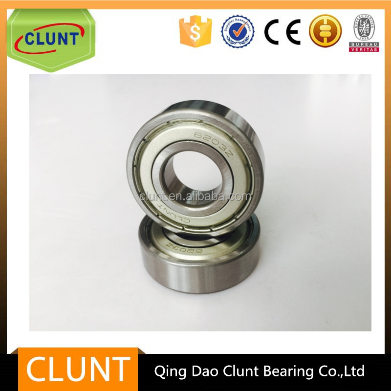 High quality best price deep groove ball bearing 6203 ABEC 7