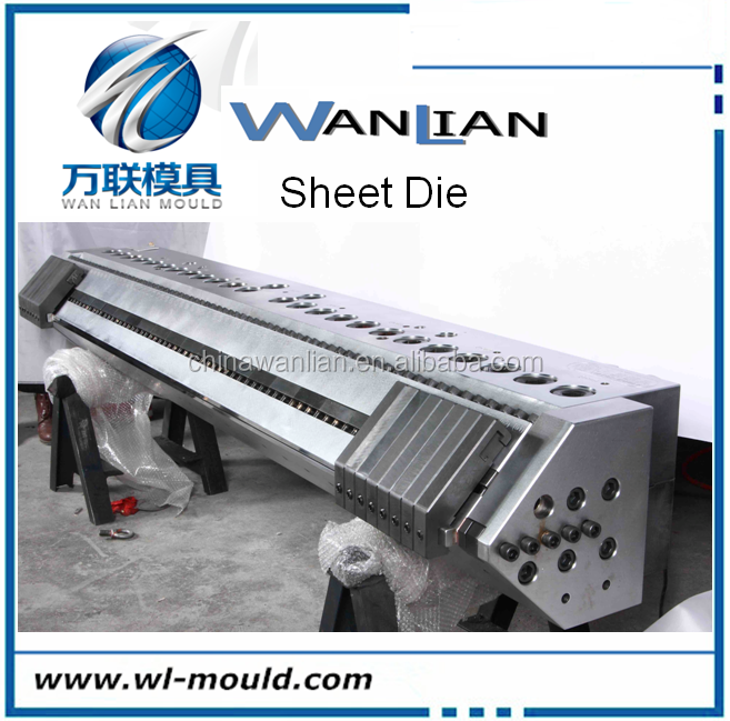 extruder mold film lamination Sheet extrusion die extruder die head for PP PE PC PE PET ABS