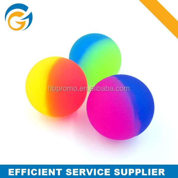 Rubber Bouncing Ball Glow in The Dark Bouncing Ball