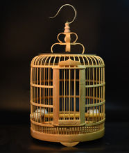 Wholesale cheap handmade bamboo wooden bird cage