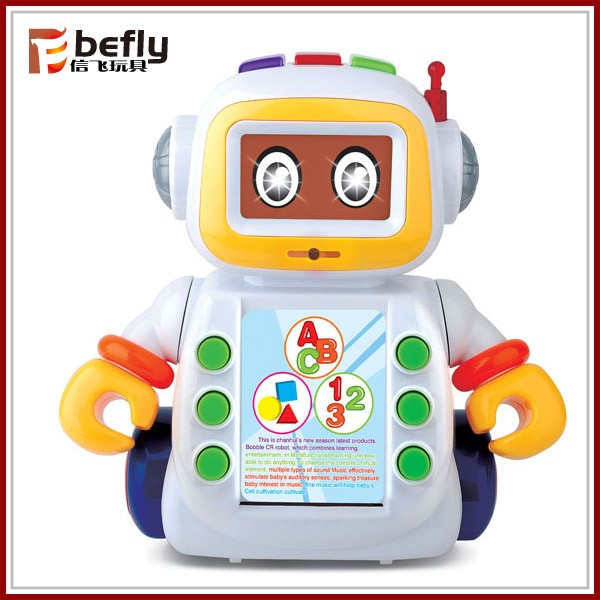 Intelligent studying machine robot B/O toys for baby