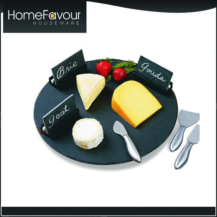 Professional Design Team TUV Standard Slate Tray Cheese Spreaders