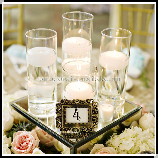 Wedding decorative glass candle holder cheap candle holder for weddings