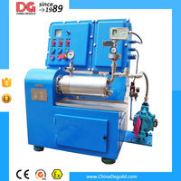horizontal 1.0l laboratory ceramic sand mill for paints and inks