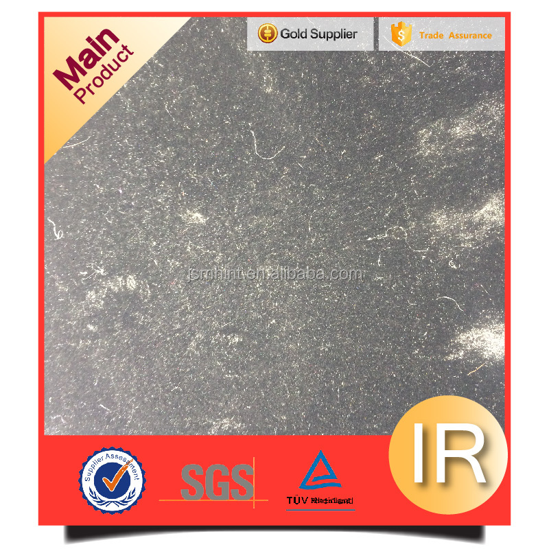Black berber fur fabric with competitive price