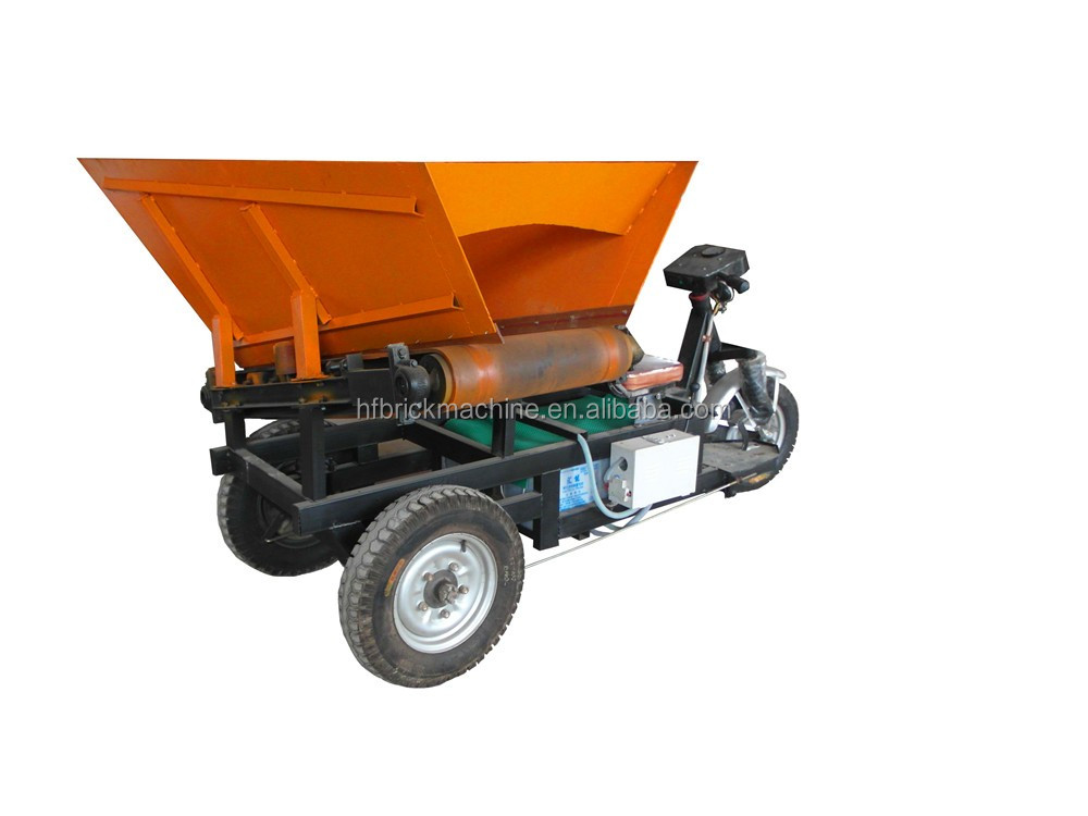 Supporting Equipment Electric Tricycle Concrete Feeding Dumper
