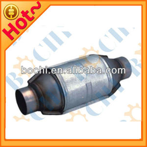 Oval auto engine exhaust manifold metal universal catalytic converter scrap