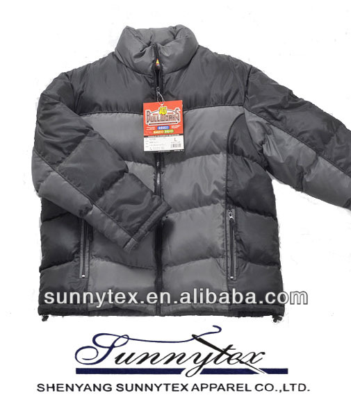 2013 sunnytex winter man wholesale clothes