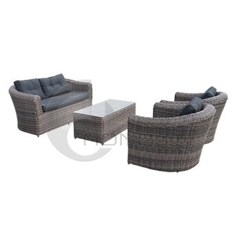 Patio Rattan Furniture Sofa Sets Outdoor Wicker Furniture