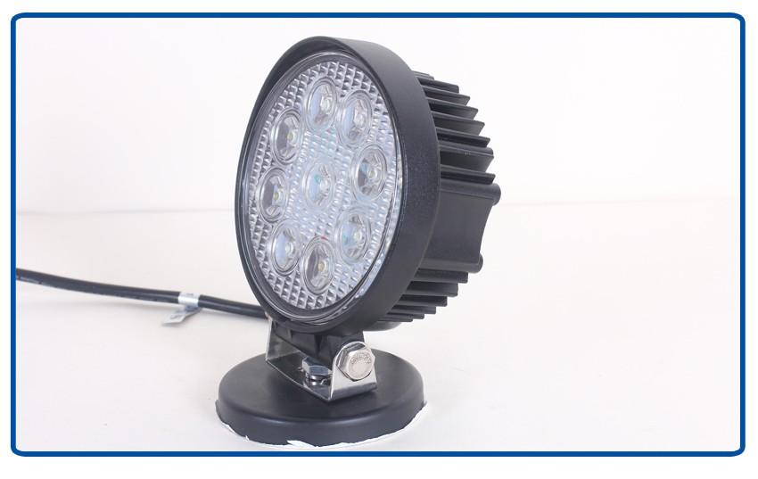 Led Tractor Lights 12v : V led work light tractor magnetic base