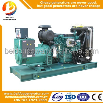 For sale 179kw low price diesel magnetic power generator