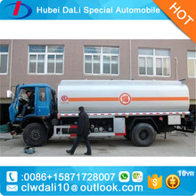 dongfeng Fuel Tanker Truck Dimensions Size Optional Capacity 15 CBM Oil Fuel Tank Truck For Sale