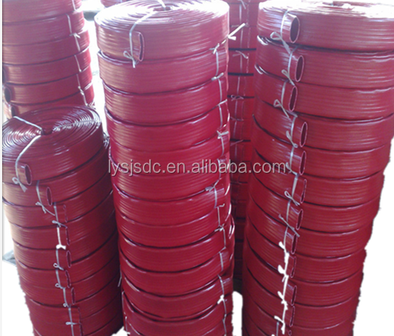 hot sale inch PVC LayFlat Hose for Water Discharge or Backwash