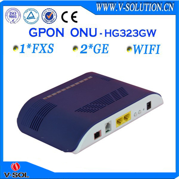 1fxs 2ge wifi onu ftth gpon optical network onu