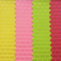 210D Jacquard invisible grid PVC high elastic polyester oxford fabric