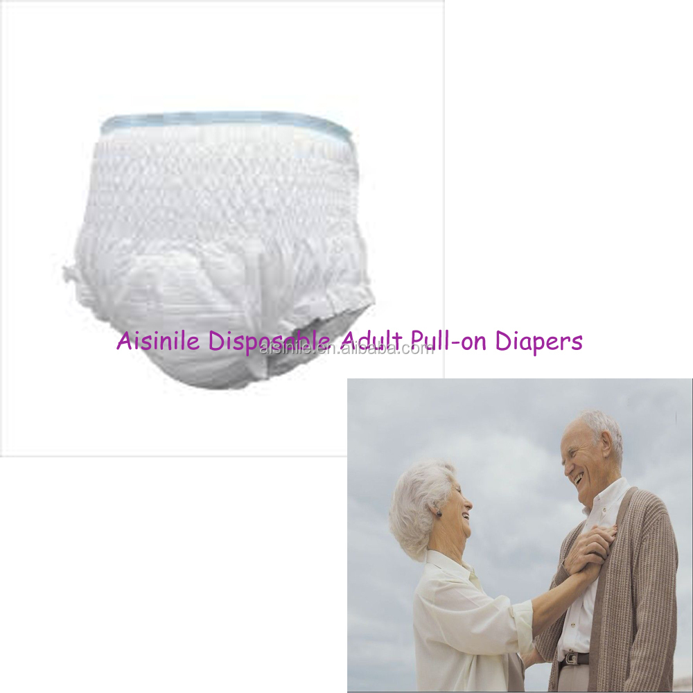 wholesale adult baby pull up pants/diapers