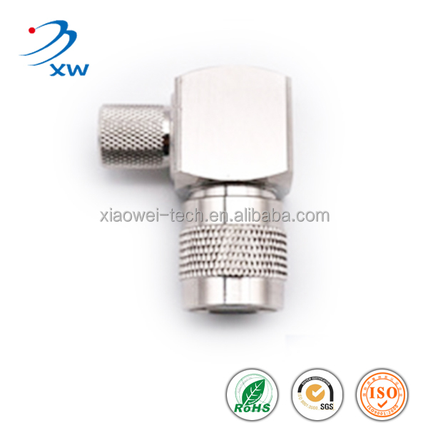 HIGH QUALITY RF TNC Plug Right Angle for LMR400 cable female connector