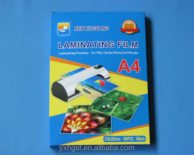 Factory direct anti-static laminating film for Office