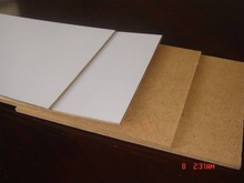 Economical Raw/melamined MDF board of cheap prices for deocration or backboard