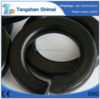 China professional manufacturer factory price Factory din127 din7980 single coil double spring lock washers ISO9001:2008