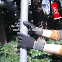 NMSAFETY super quality nylon coated high-technology foam nitrile work gloves