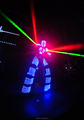 Laser Night David Guetta Kryoman led robot costume