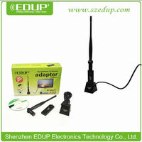 EDUP EP-MS8521 300mbps USB 802.11n/g/b High Power Wireless Adapter Card With 6DBI Antenna and Strong Base