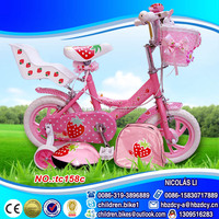 2015 best selling new arrived cute 12 inch girls mini bike/ child bicycle for girl