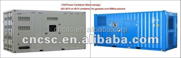 CSCPower diesel generator for kta19-g2 with cummins engine generator sets