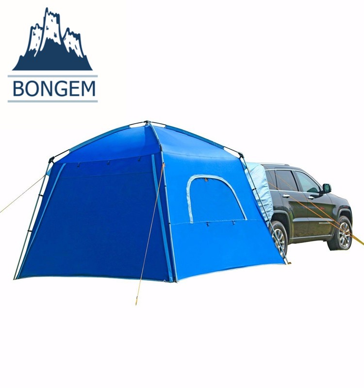 Outdoor folding portable waterproof camping car trailer tent