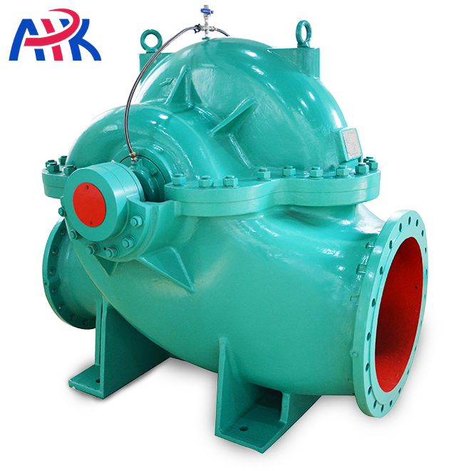 200kw Horizontal Double entry Axially Split Case Centrifugal Pump