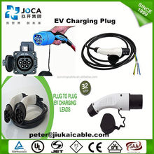 evse j1772 ev charging plug connector for car charger