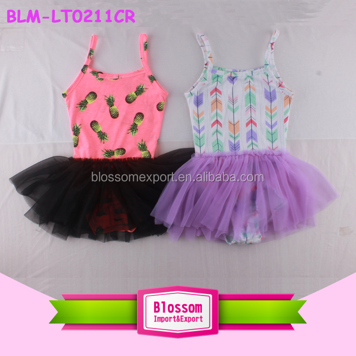 Performance Belly Dance Costume Floral Tulle Skirted Rhythmic Gymnastics Leotards Children Ballet tutu Dance Dress