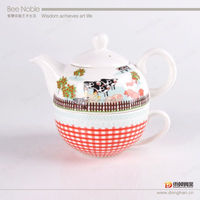 promotional gift ceramic tea set/bone china tea set wholesale