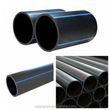 new pe100 material sdr11 PN16 high density polyethylene pipe for water supply