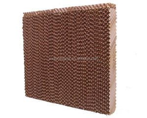 5090 honey comb water evaporate cooling pad / solar greenhouse wet paper curtain / chicken house wall cooling pad