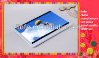 Cheap 10 inch dual core tablet pc VIA8850 with dual camera android 4.0 capacitive standard usb 2.0 port 1.2GHz/512MB/8GB