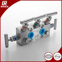 3000psi Stainless Steel Water 5 Way Valve Manifolds Like Kitz Water Manifolds