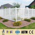 Zhejiang AFOL garden fence metal fence panel pvc ranch fence