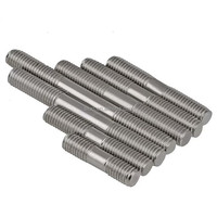 Wholesale double end thread rod threaded rods lengths and stud bolts