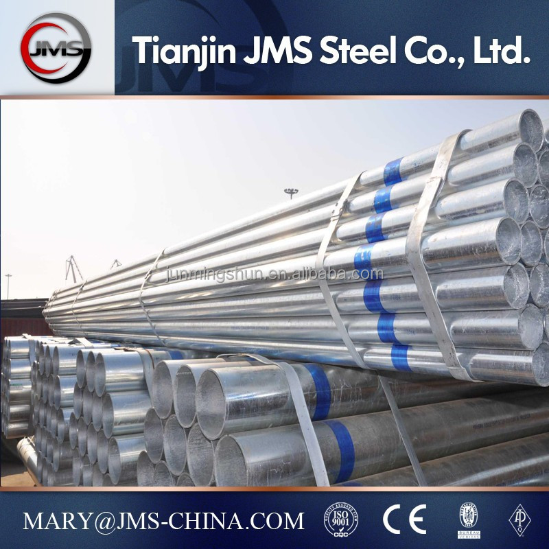 Bs1387 Astm A53 Grade B Galvanized Pipe G.i. Galvanized Iron Pipe